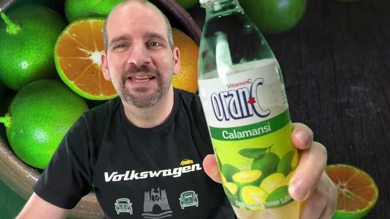 Oran-C Calamansi   Korean Drink Review   Obscure Cola