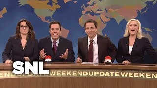 Weekend Update: Christmas Toy Joke Off w/ Seth, Amy, Jimmy & Tina - SNL