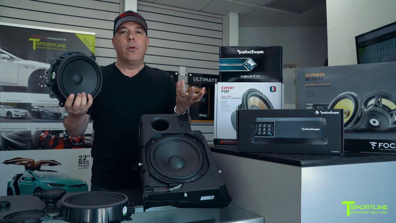 World S First Tesla Model 3 Aftermarket Audio Sound System Upgrade