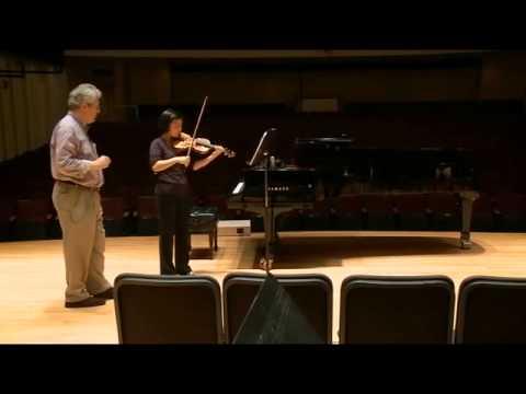 Violin Master Class: Robert Davidovici on Bartok's Concerto for Orchestra