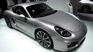 2013 Porsche Cayman - Exterior and Interior Walkaround - 2013 Detroit Auto Show