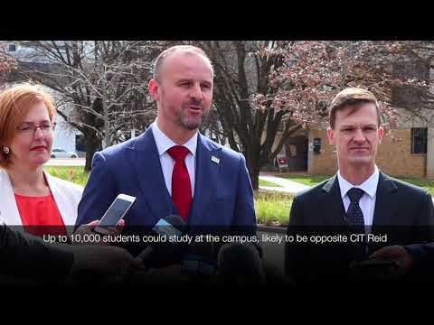 ACT Government to work with UNSW Canberra