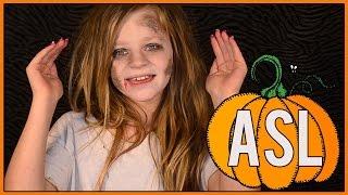 Halloween Signs American Sign Language