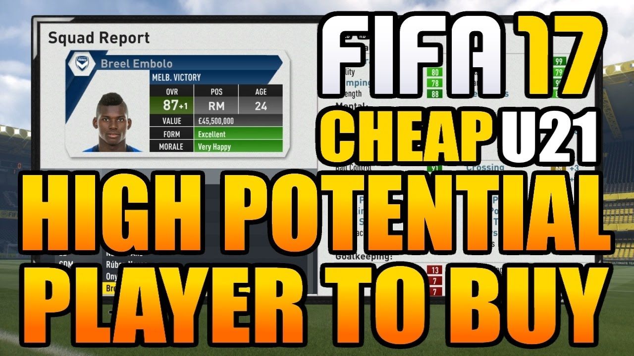 FIFA 17: BEST CHEAP PLAYERS TO BUY ON CAREER MODE (Every Positions .