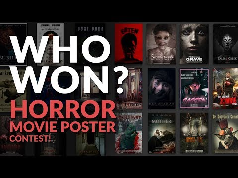 DIY Horror Movie Poster Contest WINNERS!