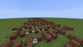 heyyeyaaeyaaaeyaeyaa in minecraft noteblocks