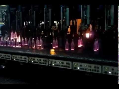 Изготовление стеклянных бутылок в г.Даг.Огни