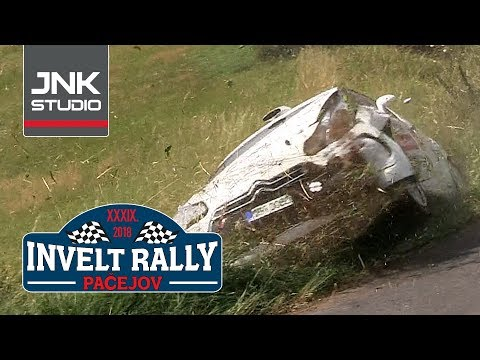 Best of 39. Invelt Rally Pačejov 2018 (crash & action)