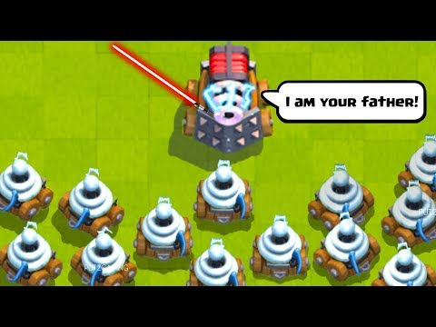 Funny Moments, Glitches, Epic Plays, Zappies, and Fails - Clash Royale Montage #35
