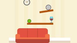 Spill It! Level (1-50) Gameplay Walkthrough Drop Balls And Break Glasses