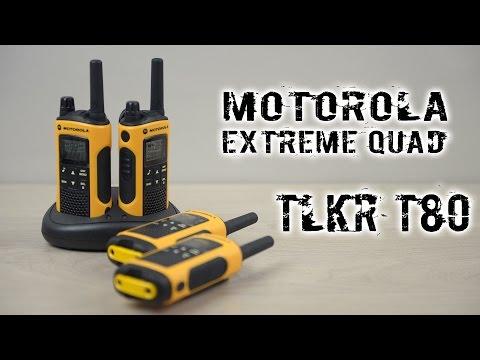 Распаковка Motorola TLKR T80 Extreme Quad