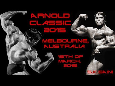 Arnold Classic Australia - Melbourne 2015