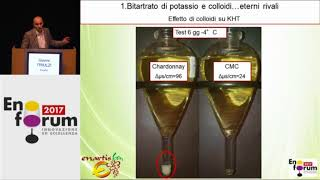 Wine tartrate stabilization with colloids: Potassium Polyaspartate application on wine