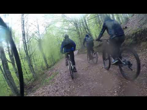 Go Pro Video 4K , Mountain Bike (From Popovo Sapka to Tetovo)