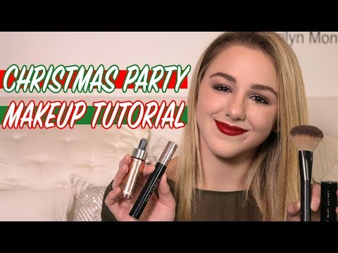 GRWM Christmas Party Makeup Tutorial | Chloe Lukasiak