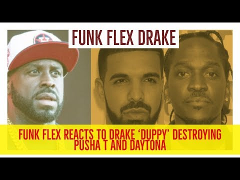 Funk Flex REACTS to DRAKE 'DUPPY' DESTROYING PUSHA T and Daytona