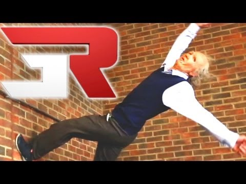 90 Year Old Free Runner Does Parkour Stunts 3Run Episode 3 of 6
