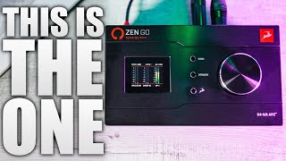 THE BEST AUDIO INTERFACE EVER! | ANTELOPE AUDIO ZEN GO REVIEW