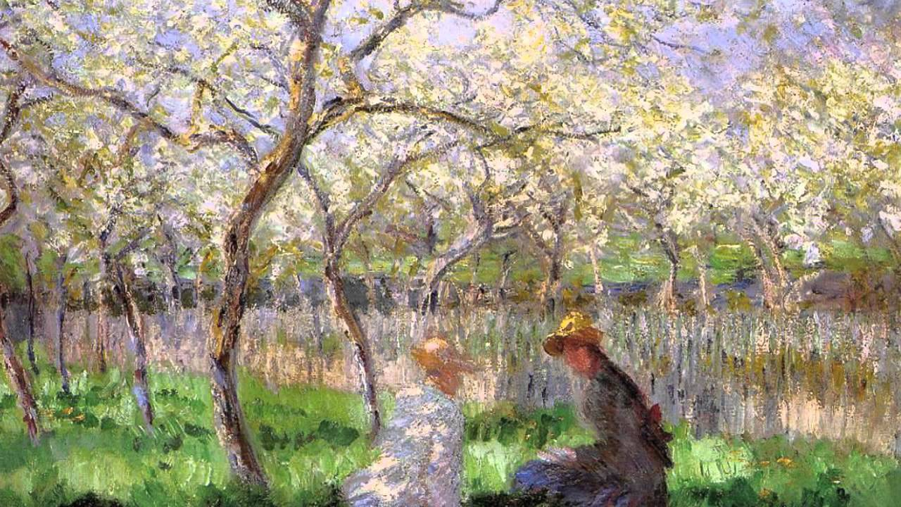 Famous claude monet paintings youtube for Monet paintings images