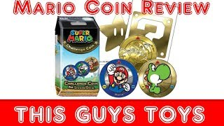 Mario Bros Coin Challenge Collection Review 24k GOLD