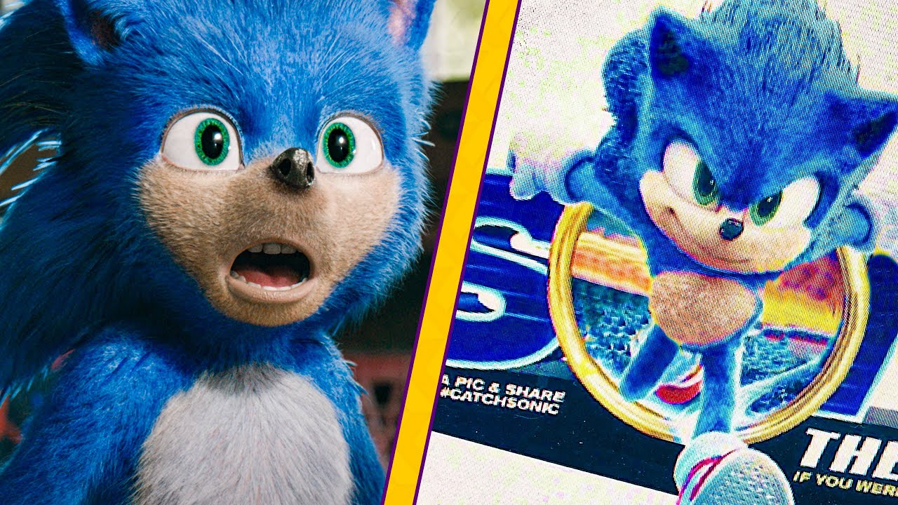The New Sonic Movie Design Leaks And It Looks Great Youtube