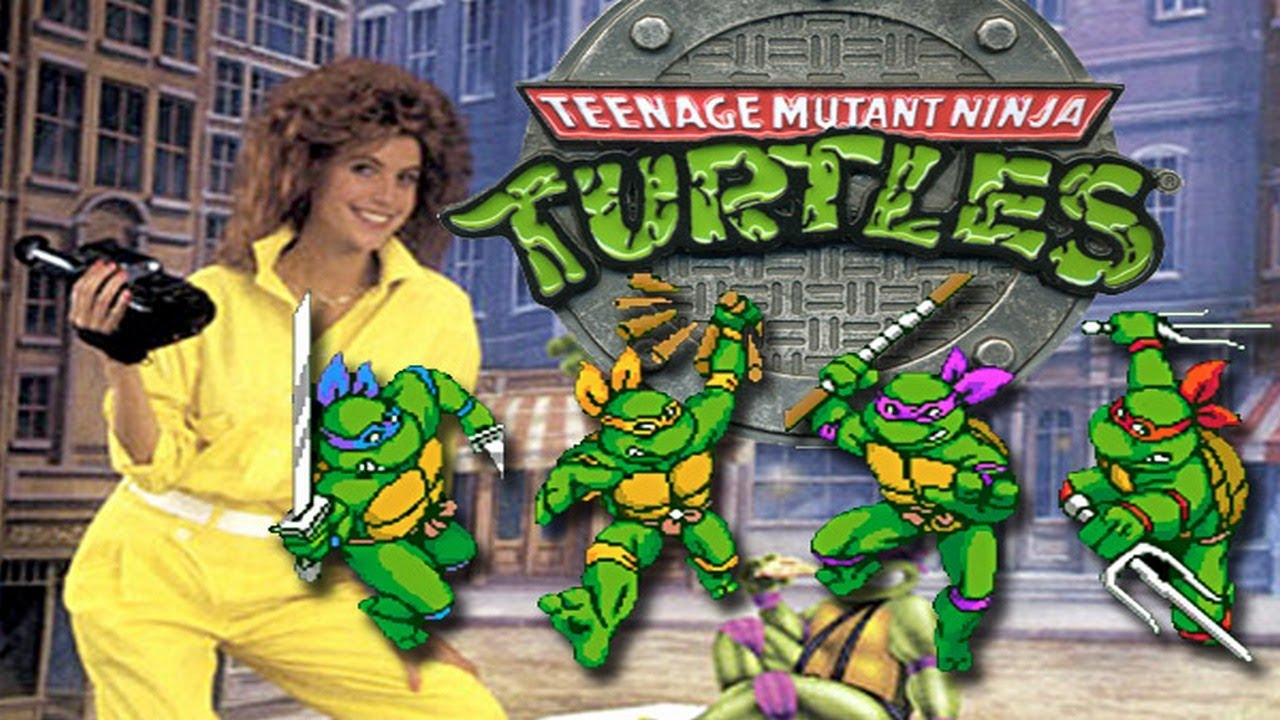 Old School Teenage Mutant Ninja Turtles The Arcade Game