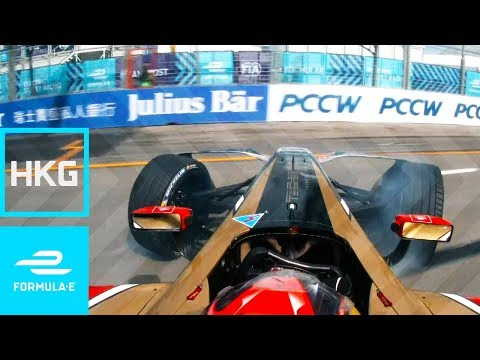 JEV Crosses Line Backwards; Takes Pole! | 2017 HKT Hong Kong E-Prix Round 1