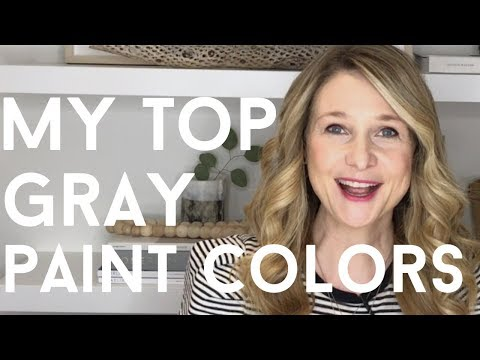 My 4 Favorite Gray Paint Colors