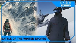 Ubisoft's Steep vs Poppermost's Snow - Battle of the Winter Sports games!