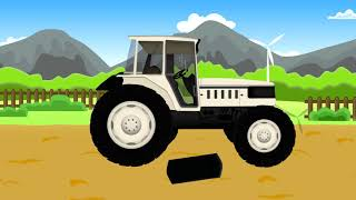 New Employee Farmer | Farm Works - Tractor | Tale About Farmers - New Employee