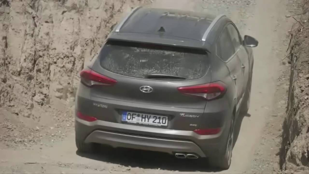 2016 Hyundai Tucson Off Road Must See Youtube