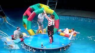 Цирк на воде в Самаре,  развод зрителей с подставными людьми. 7.01.2014