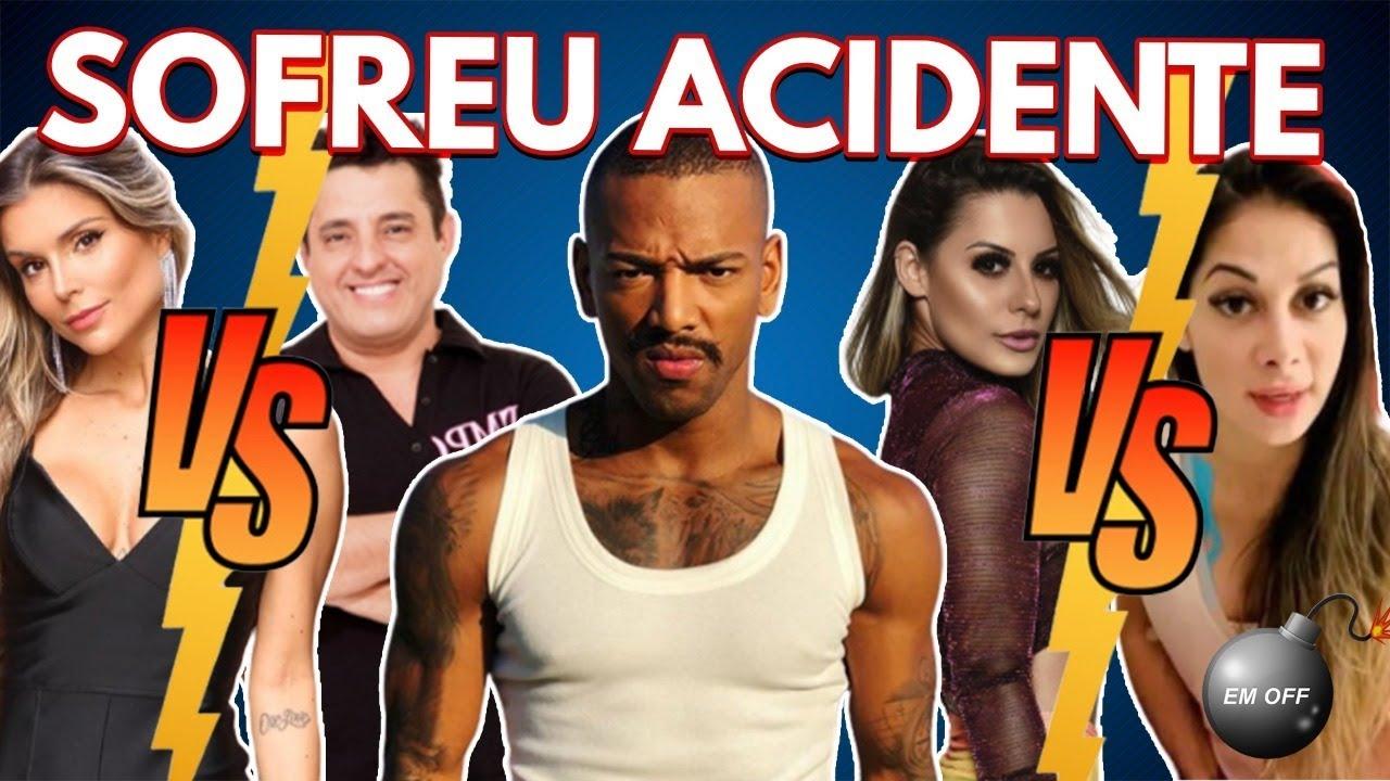 Nego do Borel sofre acidente, Mayra Cardi vs. Arthur e Arícia, Flávia Viana vs. Bruno e +! | Em Off
