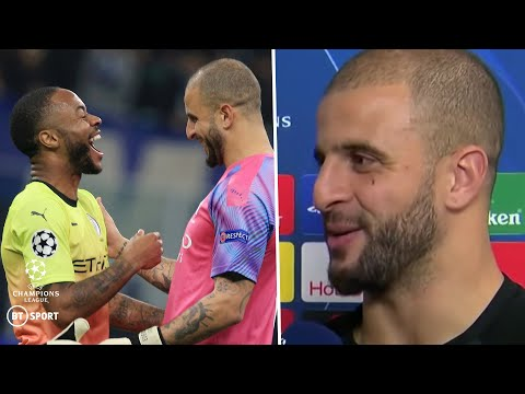 """""""I always banter the goalkeepers in training!"""" Kyle Walker talks about going in goal for Man City"""
