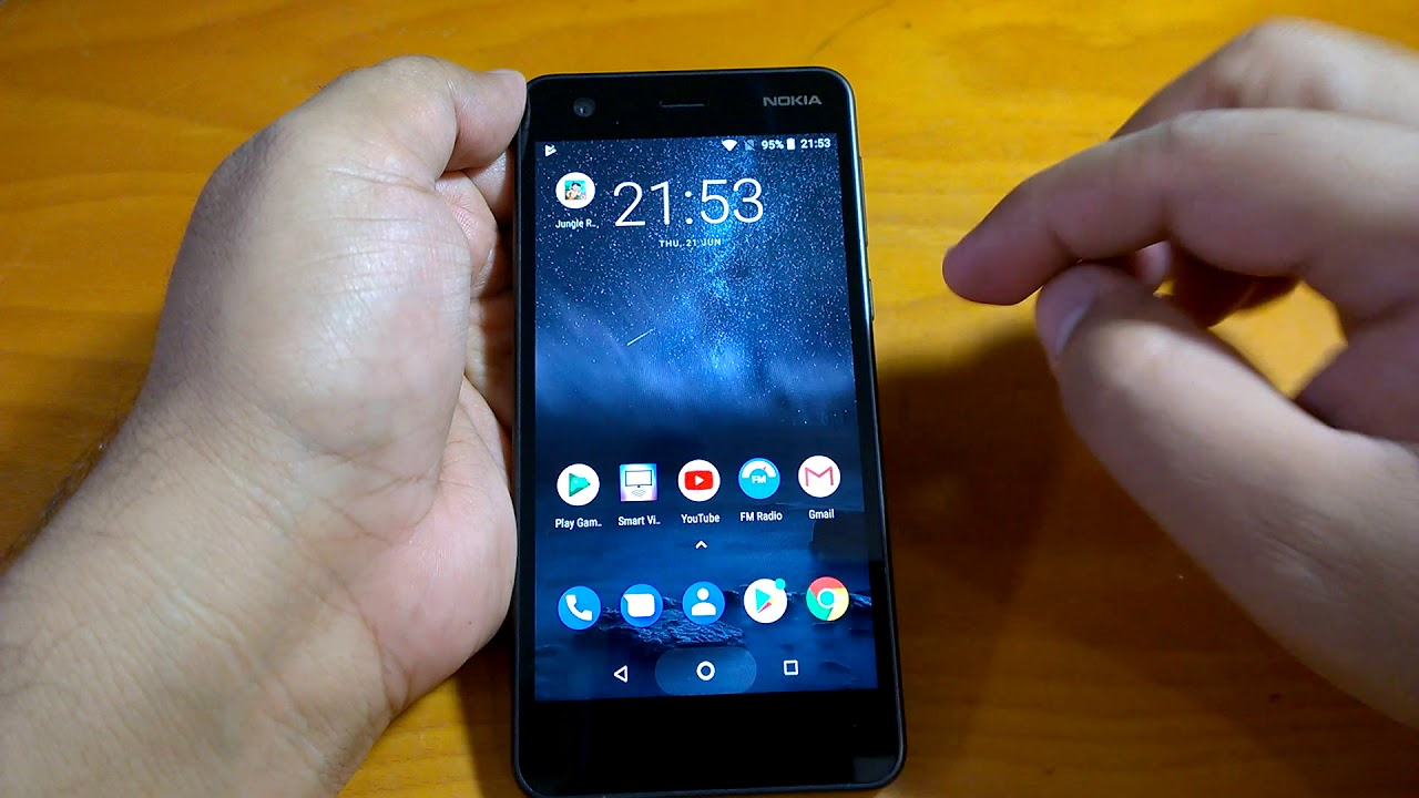 76d1c867f Nokia 2 Android 8.1 Oreo Beta hands-on  Major changes demo   impressions