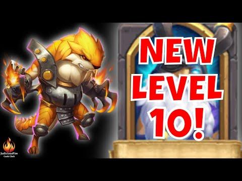 New LEVEL 10 Castle Clash Hero Trial