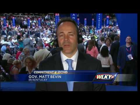 Matt Bevins weighs in on Mike Pence as potential vice president