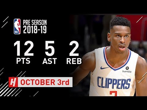 shai-gilgeous-alexander-full-highlights-vs-timberwolves---2018.10.03---12-pts,-5-ast,-2-reb!