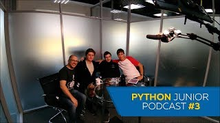 Python Junior подкаст. Выпуск #3 | Битва IDE, английский, тесты и как учиться каждый день
