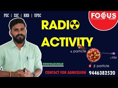 Radio Activity- Important Facts | Focus Academy
