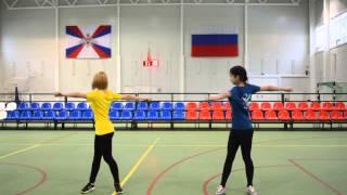 видео Комплекс общеразвивающих упражнений по физкультуре