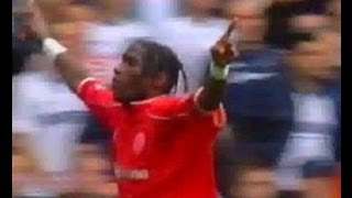Tottenham Hotspur v Middlesbrough 2002-03 GEREMI JOB GOAL