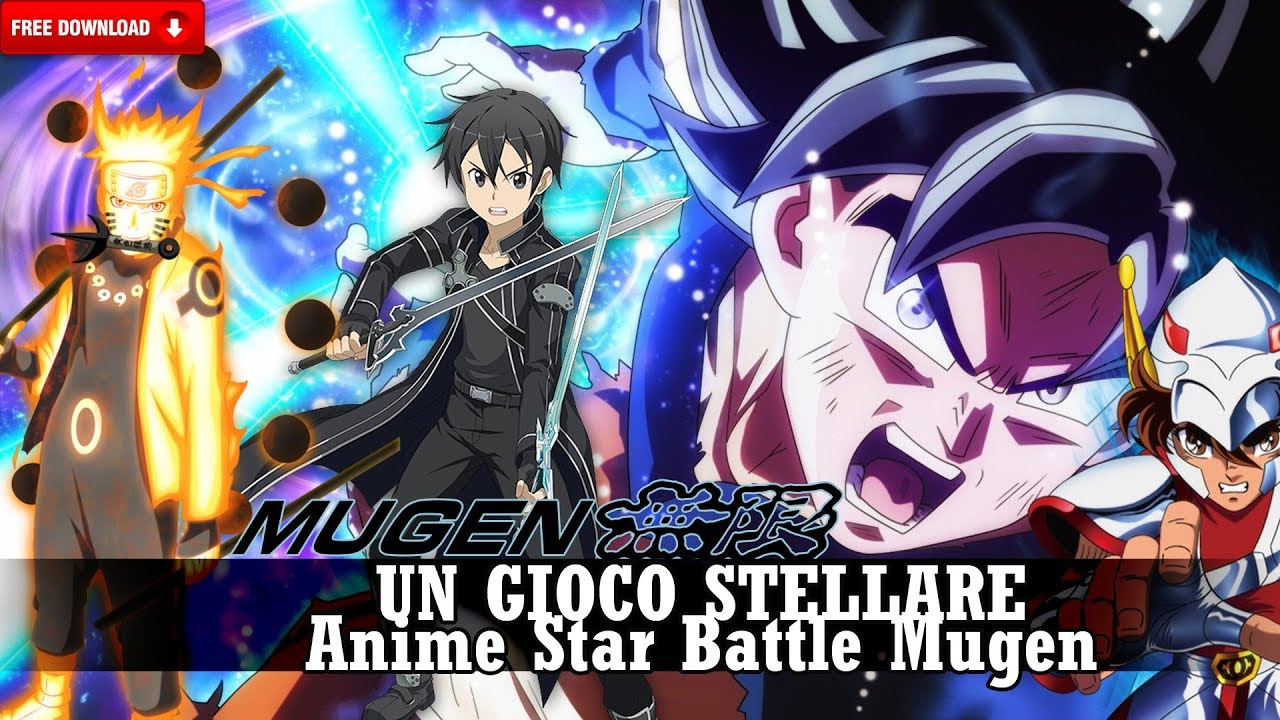 Anime Super Battle Stars Mugen V15 2019