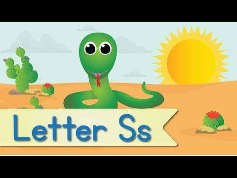 Letter S Song (Animated)   YouTube