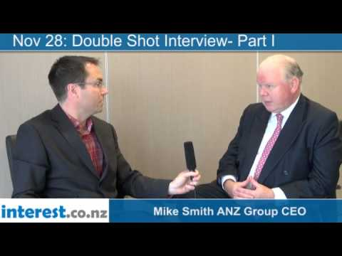 Double Shot Interview-Part I:  Mike Smith ANZ Group CEO with Gareth Vaughan