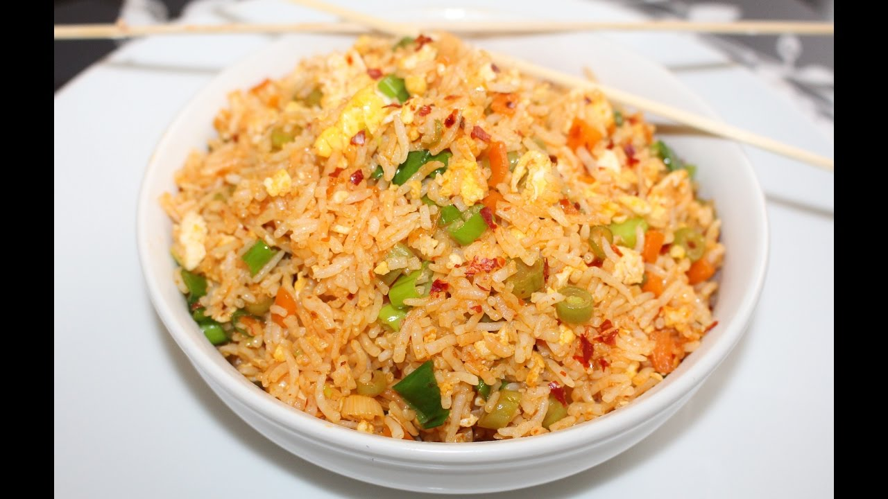 Indian Egg Fried Rice Recipe
