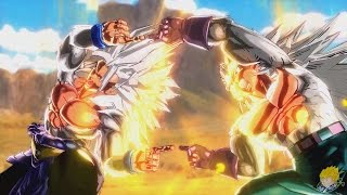 Dragon Ball Xenoverse (PC) : Super Saiyan 5 Gogeta Transformation【60FPS 1080P】