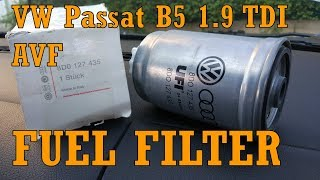 VW Passat B5 1 9 TDI AVF Fuel Filter with cooler  8D0127435