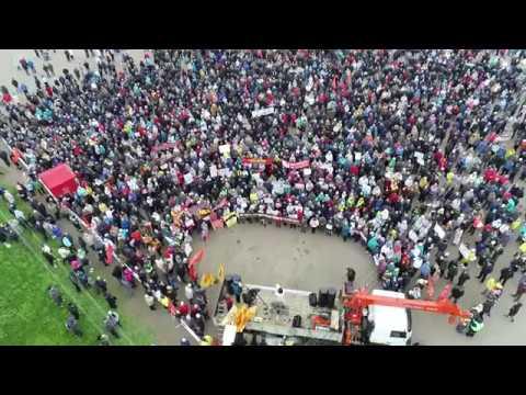 Митинг в Котласе