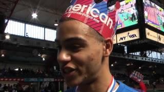 NBIN Boys 60m Hurdles Champion Donovan Robertson